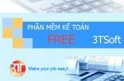 Phần mềm kê toán miễn phí 3TSoft