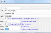 Hệ thống danh mục phần mềm kế toán 3TSoft