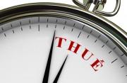 Quy định về thời hạn nộp hồ sơ khai thuế