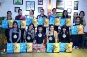 Thăng Long - TDK - MB phối hợp cùng Relax Art - Vẽ thư giãn tổ chức hoạt động giải trí cho nhân viên sau giờ làm việc