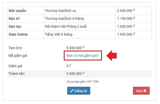 Mã giảm giá 3TSoft